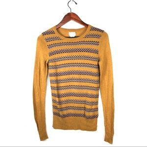 Anthropologie coincidence & chance sweater top S